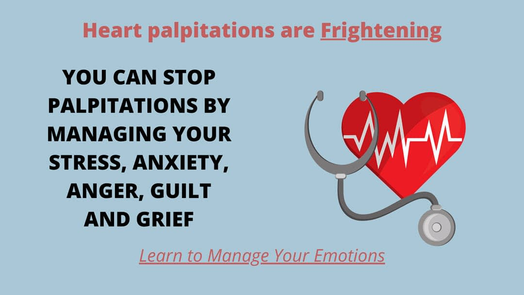 Heart palpitations can be scary: Learn how to prevent them through stress managementment