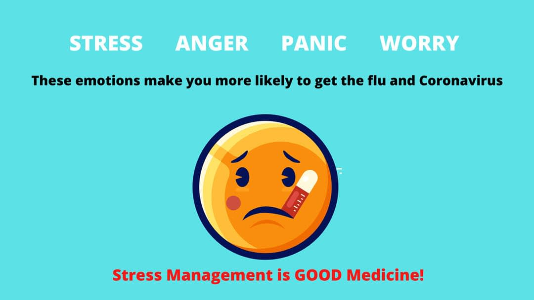 Natural Remedies to Stay Healthy this flu season: Learn to manage your stress so you will avoid getting coronavirus